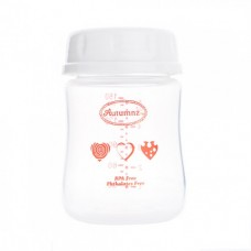 Autumnz - Wide Neck Breastmilk Storage 8 Bottles (5oz) *Red Hearts*