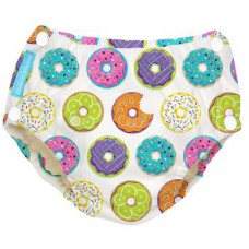 Charlie Banana - 2-in-1 Swim Diapers & Training Pants w Snaps (Delicious Donuts)