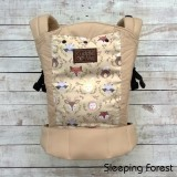 * CuddleMe - Lite Carrier *SLEEPING FOREST*