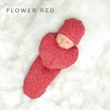 * CuddleMe - Hybrid Swaddlepod *FLOWER RED*