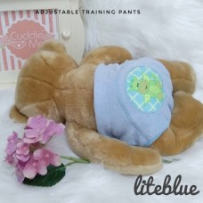 * CuddleMe - Adjustable Training Pants *LITE BLUE*