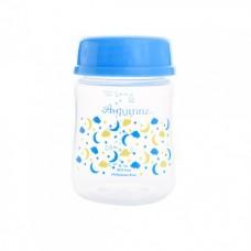 Autumnz - Wide Neck Breastmilk Storage 4 Bottles (5oz) Lullaby *Victoria Blue*