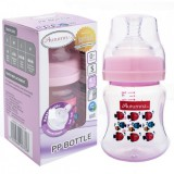 Autumnz - PP Wide Neck Feeding Bottle 4oz/120ml (Single) *Marine Pink*