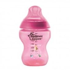 Tommee Tippee - Closer To Nature 9oz PP Tinted Bottle (Single) *Magenta*