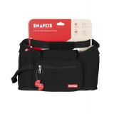 Snapkis - 2-in-1 Stroller Organiser & Tote Bag *Black*