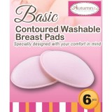 Autumnz- Basic Washable Breastpads 6pcs *Pink*