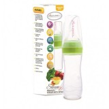 Autumnz - Silicone Squeeze Feeder With Spoon *Stand Neck 120ml* (Green)