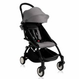 Babyzen - Yoyo+ Stroller +6months *GREY* with BLACK Frame