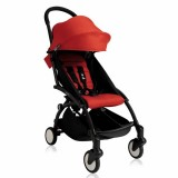 Babyzen - Yoyo+ Stroller +6months *RED* with BLACK Frame