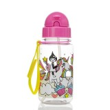 Babymel - Zip & Zoe Drinking Bottle with Straw (Unicorn)