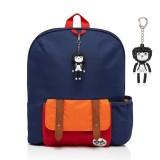 Babymel - Zip & Zoe Kid's Backpack Age 3+ (Navy Colour Block)