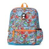 Babymel - Zip & Zoe Kid's Backpack Age 3+ (Robots Blue)