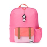 Babymel - Zip & Zoe Kid's Backpack Age 3+ (Hot Pink Colour Block)