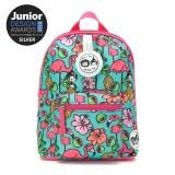 Babymel - Zip & Zoe Mini Backpack & Safety Harness / Reins Age 1-4 Years (Flamingo)