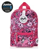 Babymel - Zip & Zoe Mini Backpack & Safety Harness / Reins Age 1-4 Years (Floral Pink)