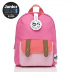 Babymel - Zip & Zoe Mini Backpack & Safety Harness / Reins Age 1-4 Years (Hot Pink Colour Block)