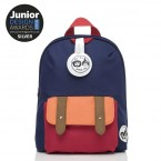 Babymel - Zip & Zoe Mini Backpack & Safety Harness / Reins Age 1-4 Years (Navy Colour Block)
