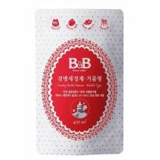 B&B - Feeding Bottle Cleanser Bubble Type Refill 400ML *BEST BUY*