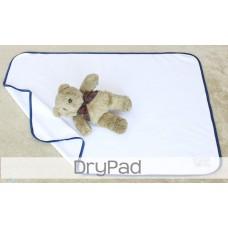 * CuddleMe - Dry Pad (Waterproof Mattress Protector) *CHECK BLUE*