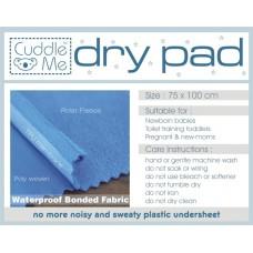 * CuddleMe - Dry Pad (Waterproof Mattress Protector) *CHECK GREY*