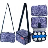 Autumnz - Fun Foldaway Cooler Bag (Violet Damask)