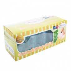 Autumnz - PP B/Milk Storage Bottle (10 pcs w Free Gifts) - Lullaby *Turquoise*