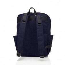 Babymel - George Backpack (Black/Navy Melange)