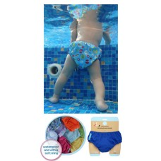 Charlie Banana - 2-in-1 Swim Diapers & Training Pants (Twinkle Little Star White)