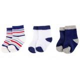 Hudson Baby - Baby No Show Socks 3pk (0-6M) *54136*
