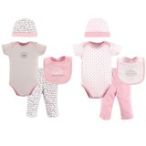 Hudson Baby - Grow With Me Box Set 8pc 0-6M *58126* BEST BUY
