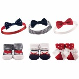 Hudson Baby - Headband & Socks Gift Set 6pk *BEST BUY* (58136)