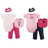 Hudson Baby - Grow With Me Box Set 8pc 0-6M *58143* BEST BUY