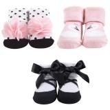 Hudson Baby - Socks Gift Set 3pk 0-9M (Pink) *58259* BEST BUY