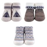 Hudson Baby - Socks Gift Set 3pk 0-9M (Blue) *58270* BEST BUY