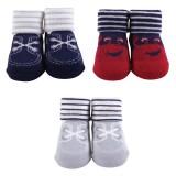 Hudson Baby - Socks Gift Set 3pk 0-9M (Blue) *58273* BEST BUY
