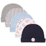 Luvable Friends - Newborn Baby Hat 5pc *34573*