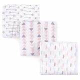 Luvable Friends - Muslin Swaddle Blankets 3pk (40358)