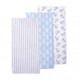 Luvable Friends - Flannel Receiving Blanket 3pk (51414)