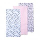Luvable Friends - Flannel Receiving Blanket 3pk (51419)