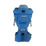 Mimosa - Airplush 6-Way Hipseat Carrier *Azure Blue*