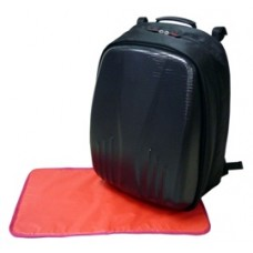 Simple Dimple - Papa Shield Bag with Changing Mat (Black)