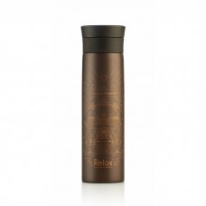 """Relax - 18.8 Stainless Steel Thermal Flask """"COLLECT MOMENTS"""" 500ML (Metallic Brown) *BEST BUY*"""