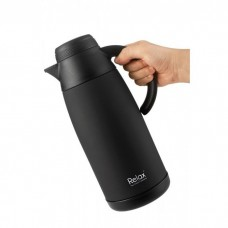 Relax - 18.8 Stainless Steel Thermal Carafe 1100ML (Matte Black) *BEST BUY*