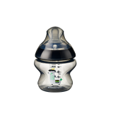 Tommee Tippee - Closer To Nature 5oz PP Tinted Bottle (Single) with Super Soft Teat *Black*