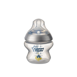 Tommee Tippee - Closer To Nature 5oz PP Tinted Bottle (Single) with Super Soft Teat *Silver*