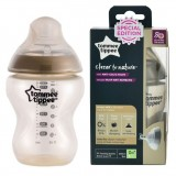 Tommee Tippee - Closer To Nature 9oz PP Tinted Bottle (Single) *Gold* SPECIAL EDITION