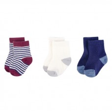 Touched By Nature - Baby Organic Socks 3pk (0-6M) *66459*