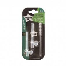 Tommee Tippee - Replacement Straw With Cleaning Brush For Straw Cup
