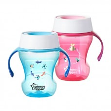 Tommee Tippee - Meal Time Trainer Cup 230ML (9M+) *Blue*