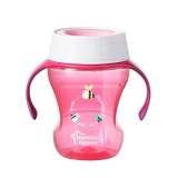 Tommee Tippee - Meal Time Trainer Cup 230ML (9M+) *Pink*